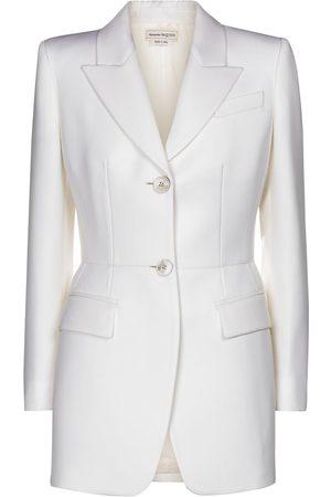 Alexander McQueen Virgin wool blazer