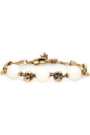 Alexander McQueen Faux pearl chain bracelet