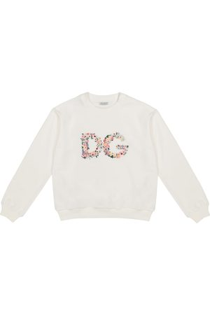 Dolce & Gabbana Logo cotton-jersey sweatshirt