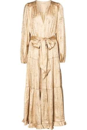 ULLA JOHNSON Helena silk-blend maxi dress