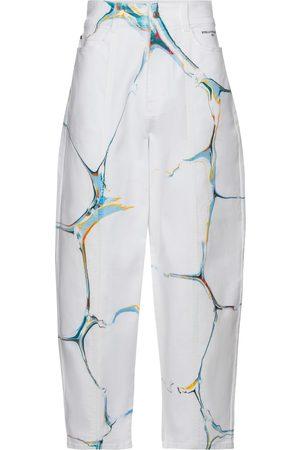 Stella McCartney High-rise stretch-cotton carrot jeans
