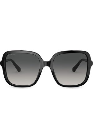 Bvlgari Oversize square frame sunglasses