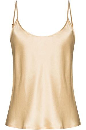 La Perla S4 spaghetti-straps silk camisole - Neutrals