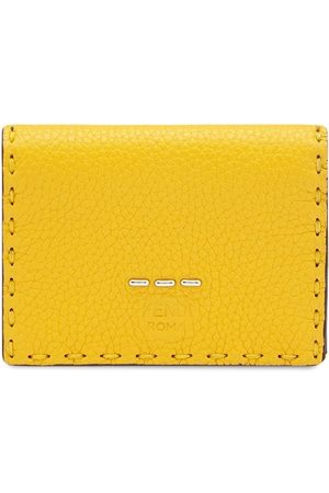 Fendi Men Wallets - Logo stamp trifold wallet
