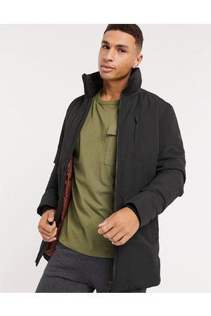 Jack & Jones Premium parka with fold-away hood in