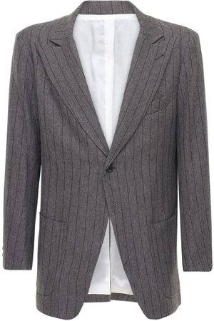Pins & Needles Pinstripe Tech Jacket
