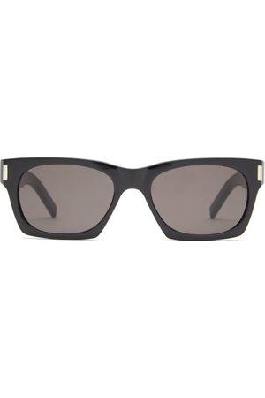 Saint Laurent Rectangular Acetate Sunglasses - Womens