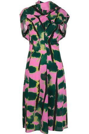 Colville Women Party Dresses - Soufle scarf silk dress