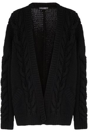 Dolce & Gabbana Chunky-knit long-sleeve cardigan