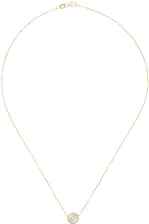 Retrouvai 14kt diamond and pearl necklace