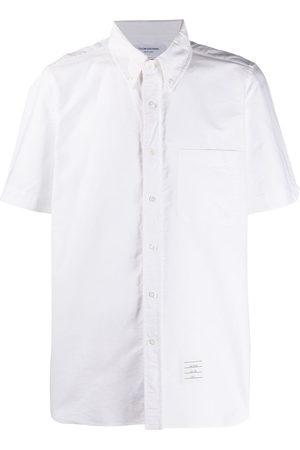 Thom Browne Short-sleeved Oxford shirt - 100