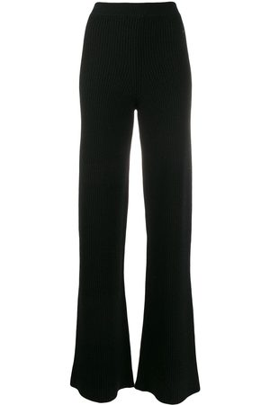 Cashmere In Love Ribbed flared Cortina trousers