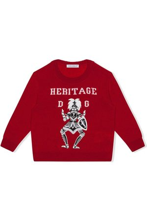 Dolce & Gabbana Heritage intarsia jumper