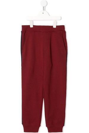 Emporio Armani Logo-print track trousers