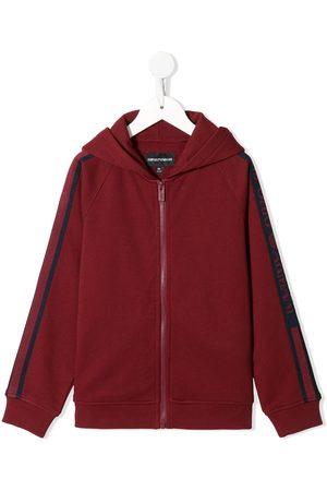Emporio Armani Zipped down hoodie