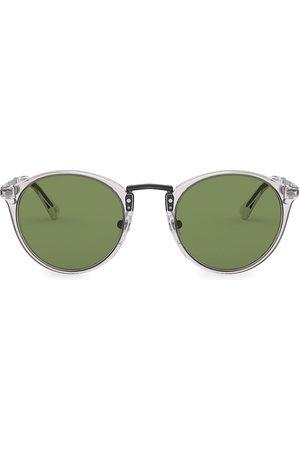 Persol Men's 54MM Round Sunglasses - Grey