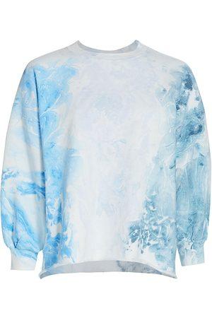 RACHEL COMEY Women's Fond Puff-Sleeve Sweatshirt - - Size Medium/Large