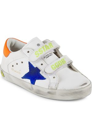 Golden Goose Baby & Boy's Old School Star Strap Leather Sneakers - - Size 35 EU (3.5 Child US)
