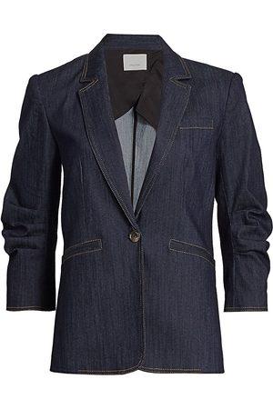 Cinq A Sept Women's Khloe Denim Blazer - Indigo - Size 6