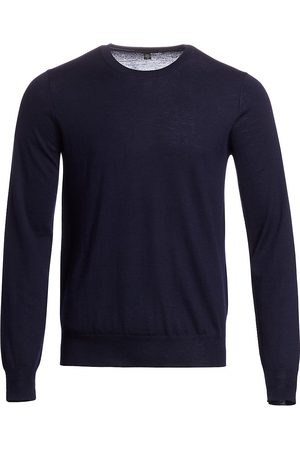 Saks Fifth Avenue Men's COLLECTION Lightweight Cashmere Crewneck Sweater - - Size Small