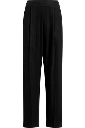Leset Women's Lori Cropped Straight-Leg Pants - - Size Large