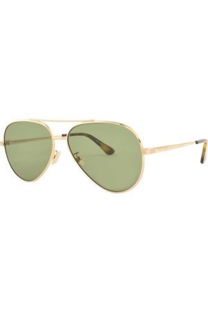 Saint Lauren Men Aviators - T Classic 11 Aviator Sunglasses