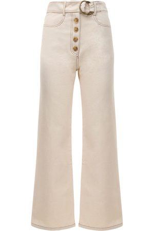 REJINA PYO Emily Wide Leg Denim Jeans