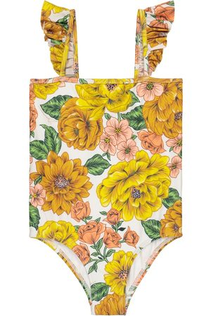 ZIMMERMANN Poppy Frill floral swimsuit