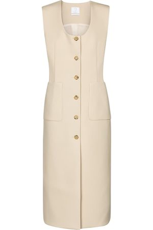 Deveaux New York Alicia sleeveless midi dress