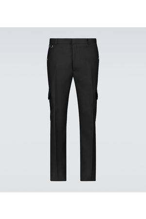 Alexander McQueen Serge slim-fit wool cargo pants
