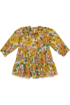 ZIMMERMANN Poppy floral cotton voile dress
