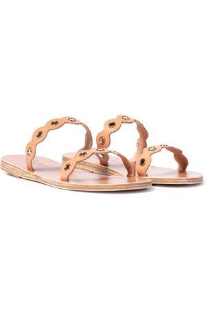 Ancient Greek Sandals Melia Mirrors leather sandals