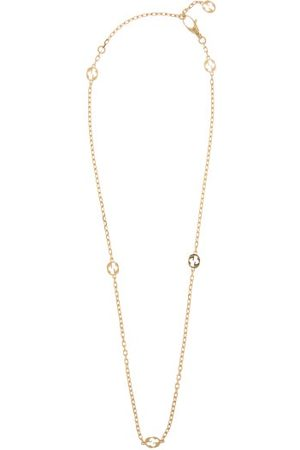Gucci Women Necklaces - GG-logo 18kt Chain Necklace - Womens