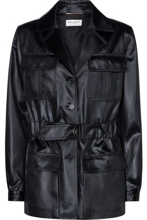 Saint Laurent Faux leather jacket