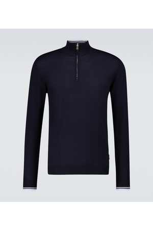 Orlebar Brown Lennard Tipping zipped sweater