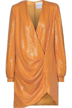HALPERN Sequined minidress