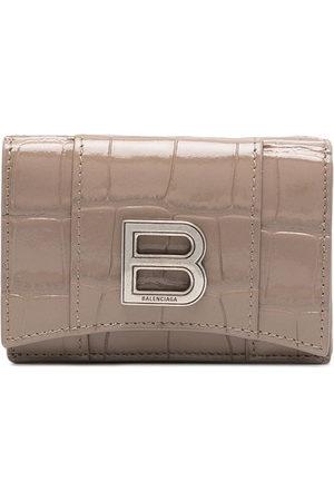 Balenciaga Women Wallets - Hourglass mini wallet - Neutrals