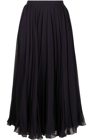 VALENTINO Pleated mid-length skirt