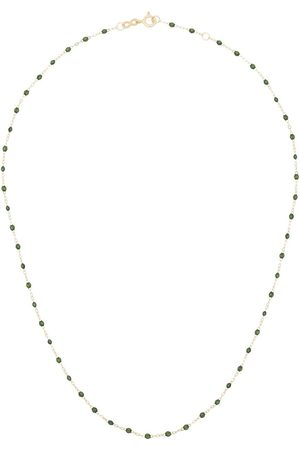 GIGI CLOZEAU 18kt yellow Classic Gigi beaded necklace