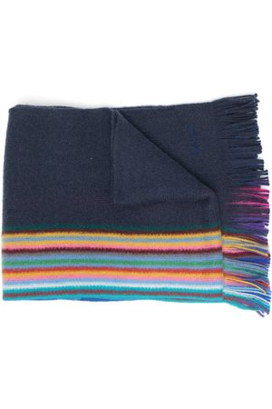Paul Smith Striped print scarves