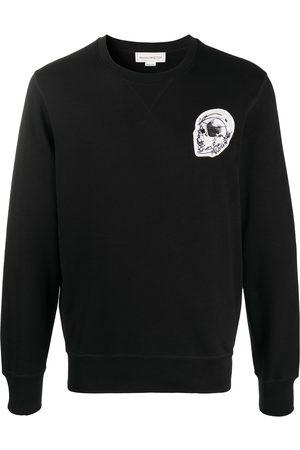 Alexander McQueen Logo patch sweatshirt