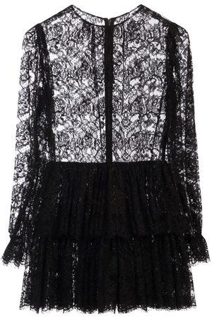 Dolce & Gabbana Women Dresses - Ruffled short lace dress