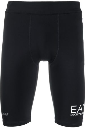 EA7 Men Shorts - Stretch cycling shorts
