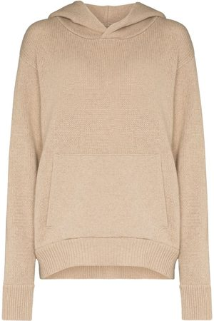 Les Tien Knitted cashmere hoodie