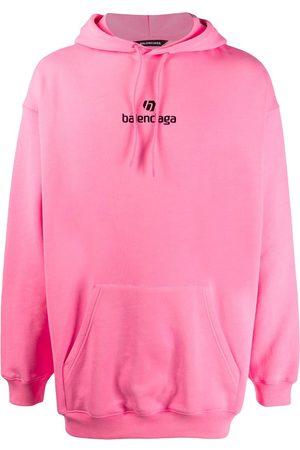 Balenciaga Logo-embroidered hoodie