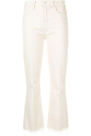 Mother Women Bootcut - The Hustler bootcut jeans - Neutrals