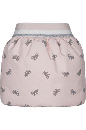 Lapin House Girls Printed Skirts - Bow print puff skirt