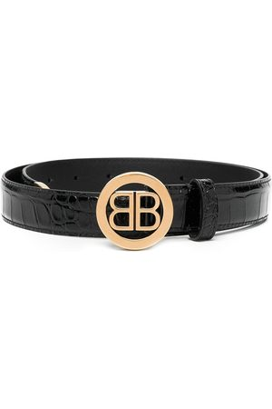 Balenciaga Circled BB belt