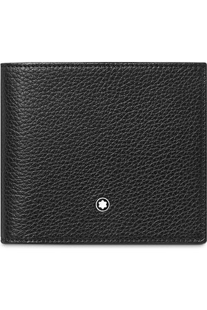 Mont Blanc Men Wallets - Meisterstuck Soft Grain Leather Wallet with Coin Case