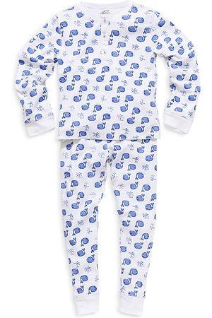 Roller Rabbit Unisex Whale Pajama Set - Little Kid, Big Kid